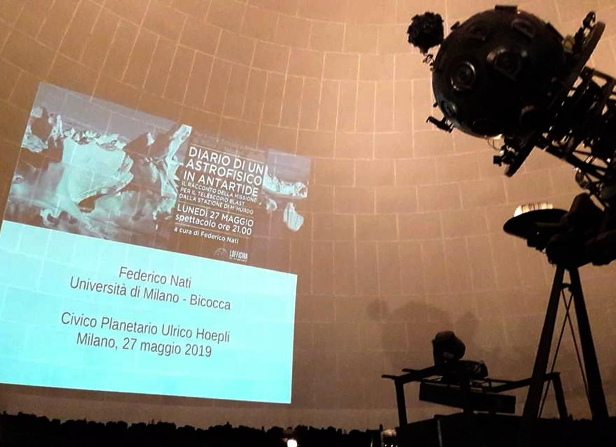 Planetario di Milano 2019