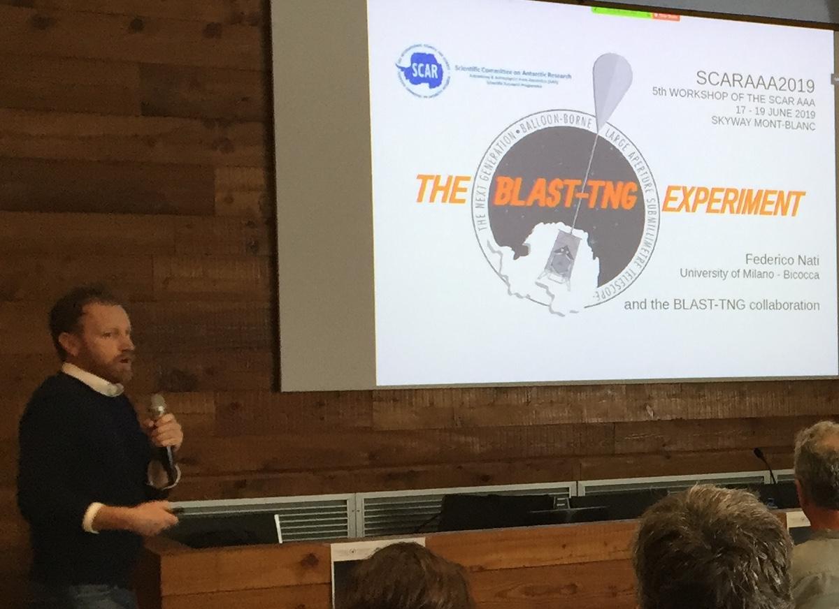 Blast-TNG talk at SCAR 2019